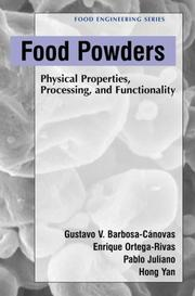 Cover of: Food powders |