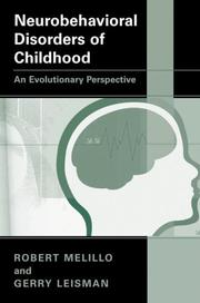 Cover of: Neurobehavioral Disorders of Childhood | Robert Melillo