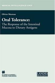 Oral tolerance by Olivier Morteau