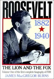 Cover of: Roosevelt, the lion and the fox
