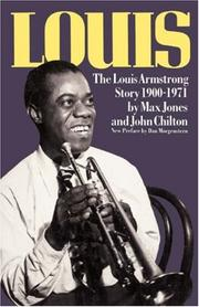 Cover of: Louis, the Louis Armstrong story, 1900-1971
