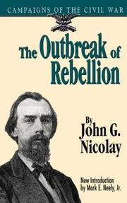 Cover of: The outbreak of rebellion