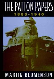 Cover of: The Patton papers
