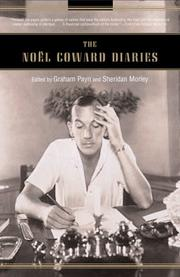 Cover of: The Noël Coward Diaries |