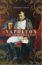 Cover of: Napoleon and the Hundred Days