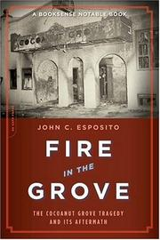 Cover of: Fire in the Grove | John C. Esposito