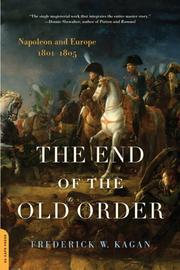 Cover of: The End of the Old Order