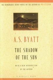 Cover of: The shadow of the sun: a novel