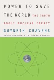 Cover of: Power to Save the World by Gwyneth Cravens