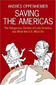 Cover of: Saving the Americas