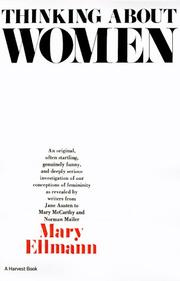 Cover of: Thinking About Women | Mary Ellmann