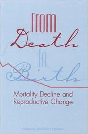 Cover of: From Death to Birth | National Research Council (US)