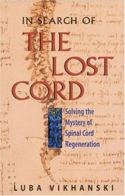 Cover of: In Search of the Lost Cord | Luba Vikhanski
