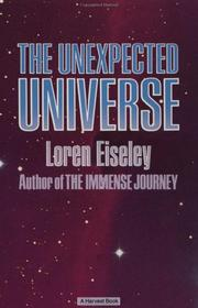 Cover of: The unexpected universe