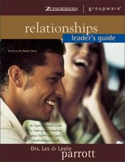 Cover of: Relationships Leader