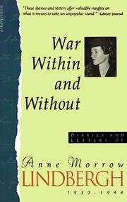 Cover of: War within and without