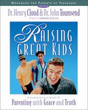 Cover of: Raising Great Kids Workbook for Parents of Teenagers | Dr. Henry Cloud