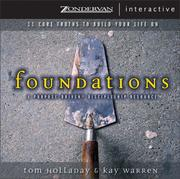 Cover of: Foundations | Tom Holladay