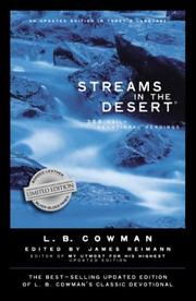 Cover of: Streams in the Desert |