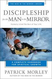 Cover of: Discipleship for the man in the mirror