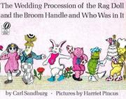 Cover of: The wedding procession of the rag doll and the broom handle and who was in it
