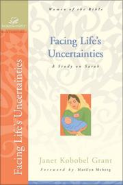 Cover of: Facing Life's Uncertainties
