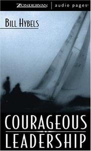 Cover of: Courageous Leadership
