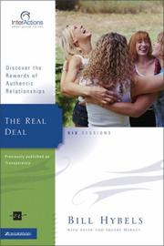 Cover of: The Real Deal: Discover the Rewards of Authentic Relationships (Interactions)