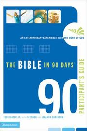 Cover of: The Bible in 90 Days Participant