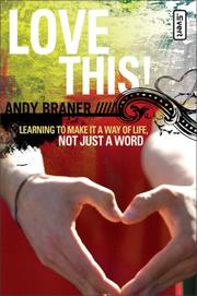 Cover of: Love This | Andy Braner