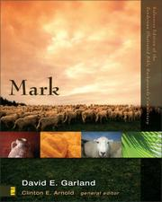 Cover of: Mark (Zondervan Illustrated Bible Backgrounds Commentary)