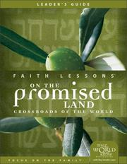 Cover of: Faith Lessons on the Promised Land (Church Vol. 1) Leader's Guide