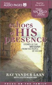 Cover of: Echoes of His Presence |