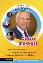 Cover of: Colin Powell | Gregg Lewis