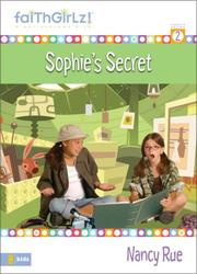 Cover of: Sophie's secret