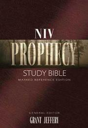 Cover of: NIV Prophecy Marked Reference Study Bible