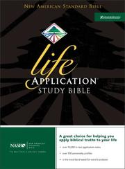 Cover of: Life Application Study Bible, Indexed, NASB |