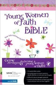 Cover of: Young Women of Faith Bible (NIV)