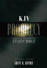 Cover of: KJV Prophecy Marked Reference Study Bible Indexed