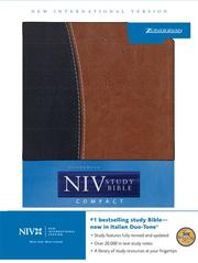 Cover of: NIV Study Bible Compact (New International Version) |