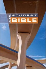 Cover of: NIV Student Bible, Revised, Indexed