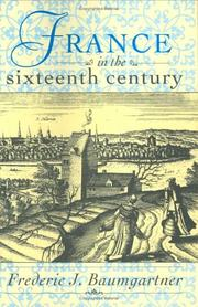 Cover of: France in the sixteenth century