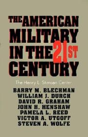 Cover of: The American Military in the 21st Century |