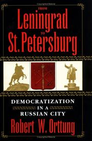 Cover of: From Leningrad to St. Petersburg
