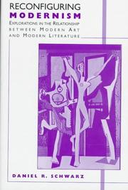 Cover of: Reconfiguring modernism