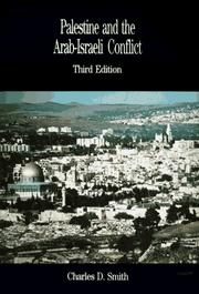 Cover of: Palestine and the Arab-Israeli conflict