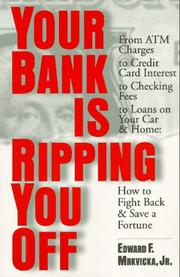 Cover of: Your bank is ripping you off