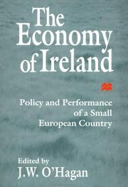 Cover of: The Economy of Ireland | J.W. O