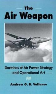 Cover of: The air weapon