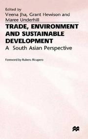 Trade, Environment and Sustainable Development by